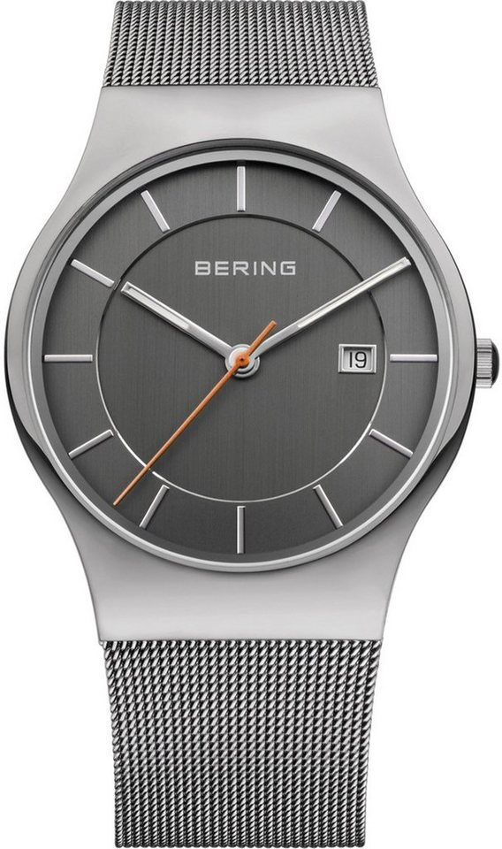 Bering Quarzuhr »11938-007« in grau