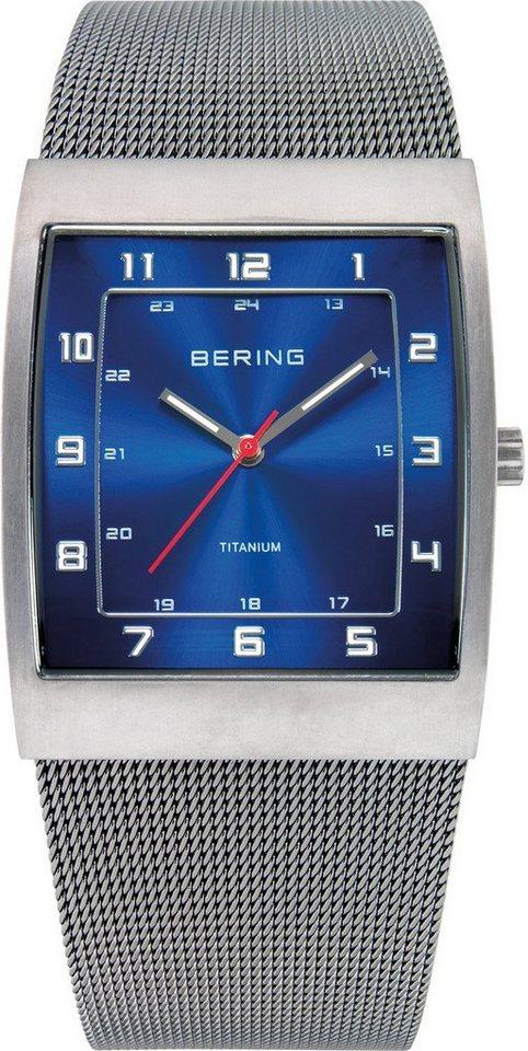 Bering Titanuhr »11233-078« in grau