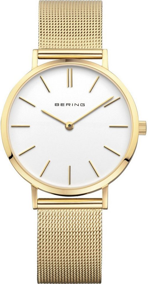 Bering Quarzuhr »14134-331« in goldfarben