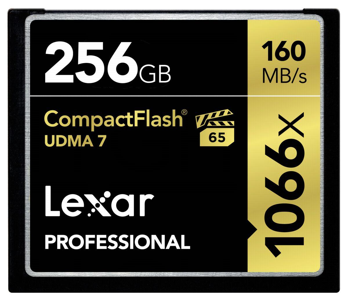 Lexar Speicherkarten »CF Card 256GB 1066x Professional UDMA7«
