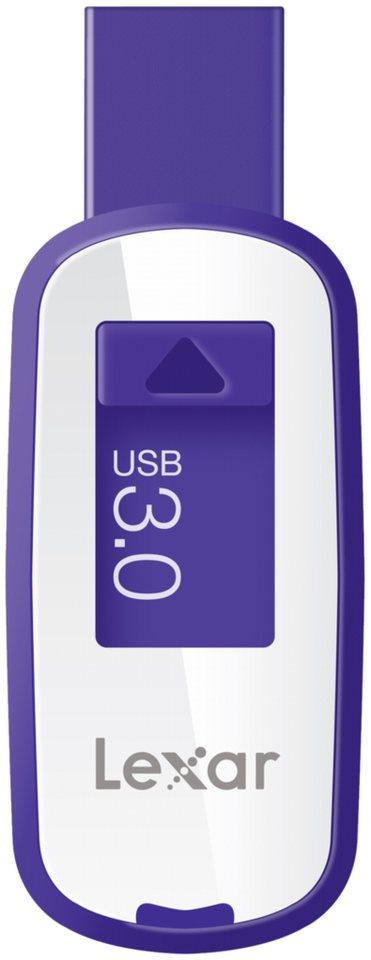 Lexar Speichermedien »JumpDrive USB 3.0 64GB S25« in weiß / violett