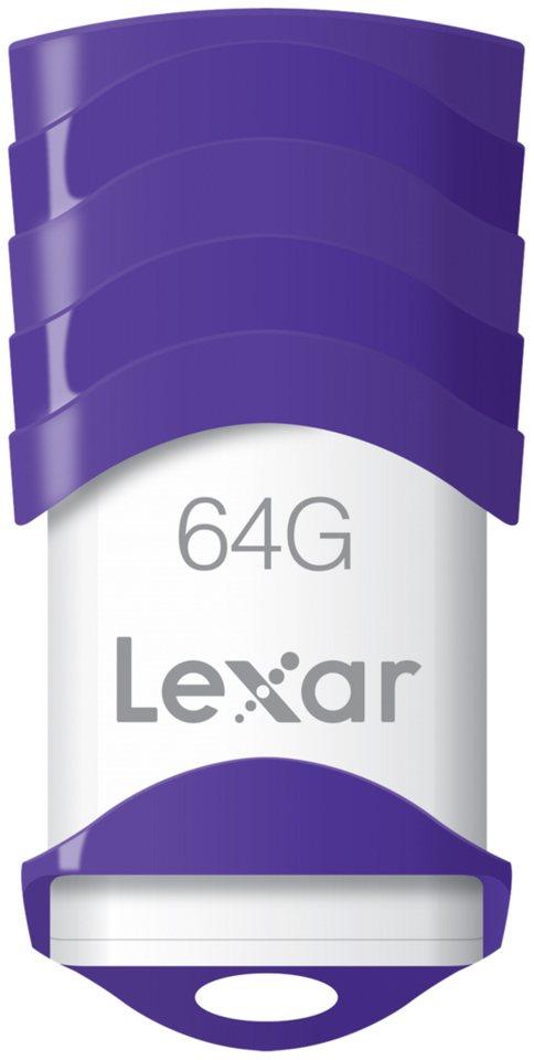 Lexar Speichermedien »JumpDrive USB 2.0 64GB V30« in weiß / violett
