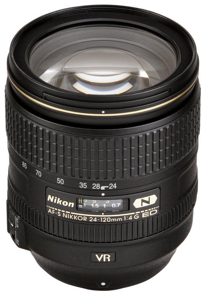 Nikon Objektive »AF-S 4,0/24-120 G ED VR« in schwarz