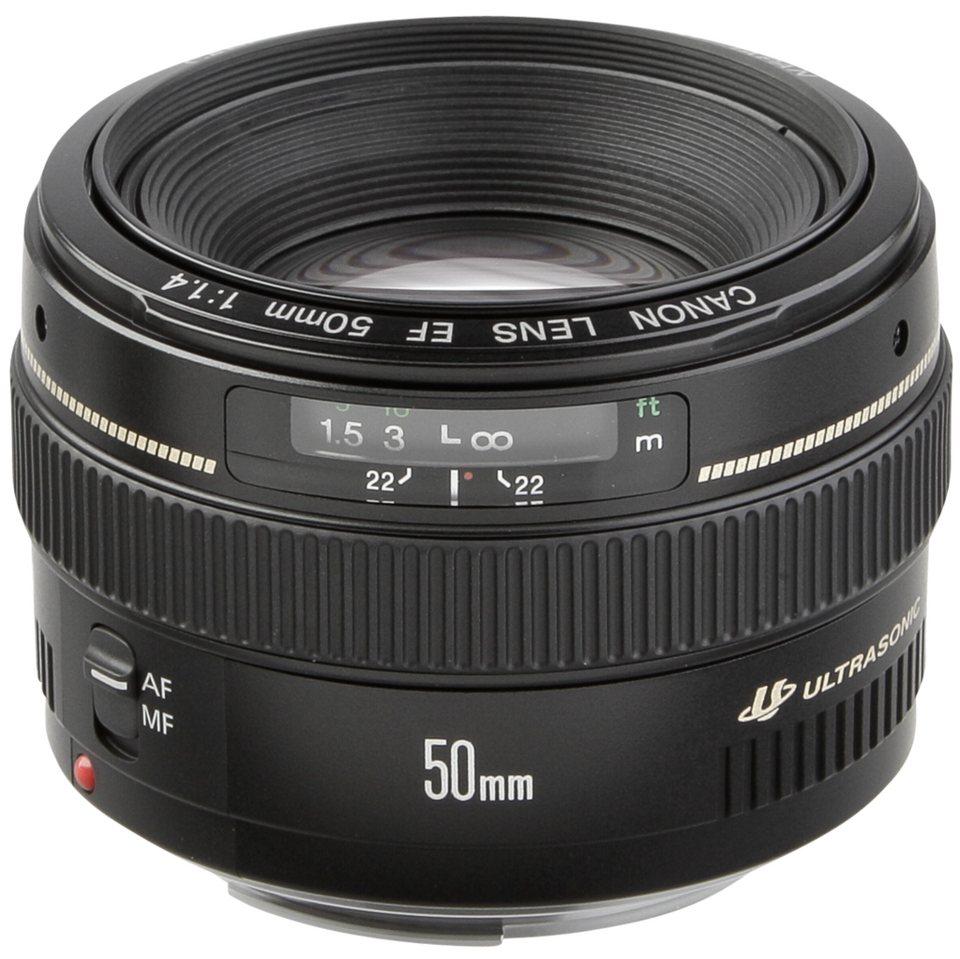 Canon Objektive »EF USM 1,4/50« in schwarz