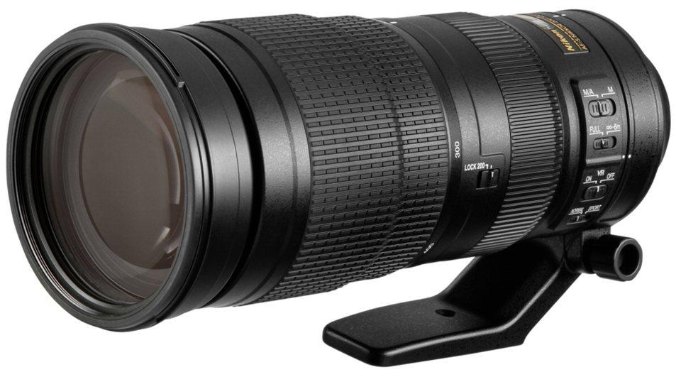 Nikon Objektive »AF-S 5,6/200-500 ED VR« in schwarz