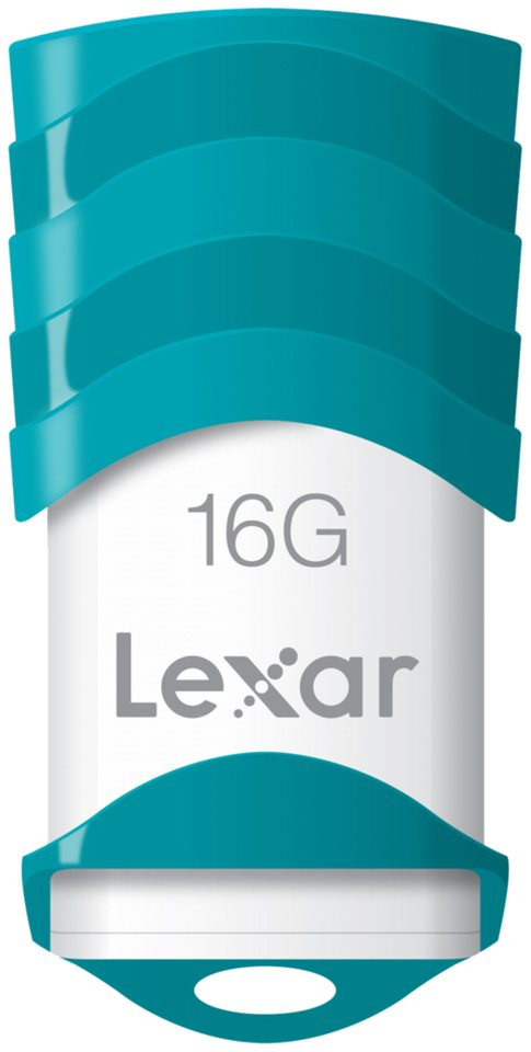 Lexar Speichermedien »JumpDrive USB 2.0 16GB V30« in weiß / türkis