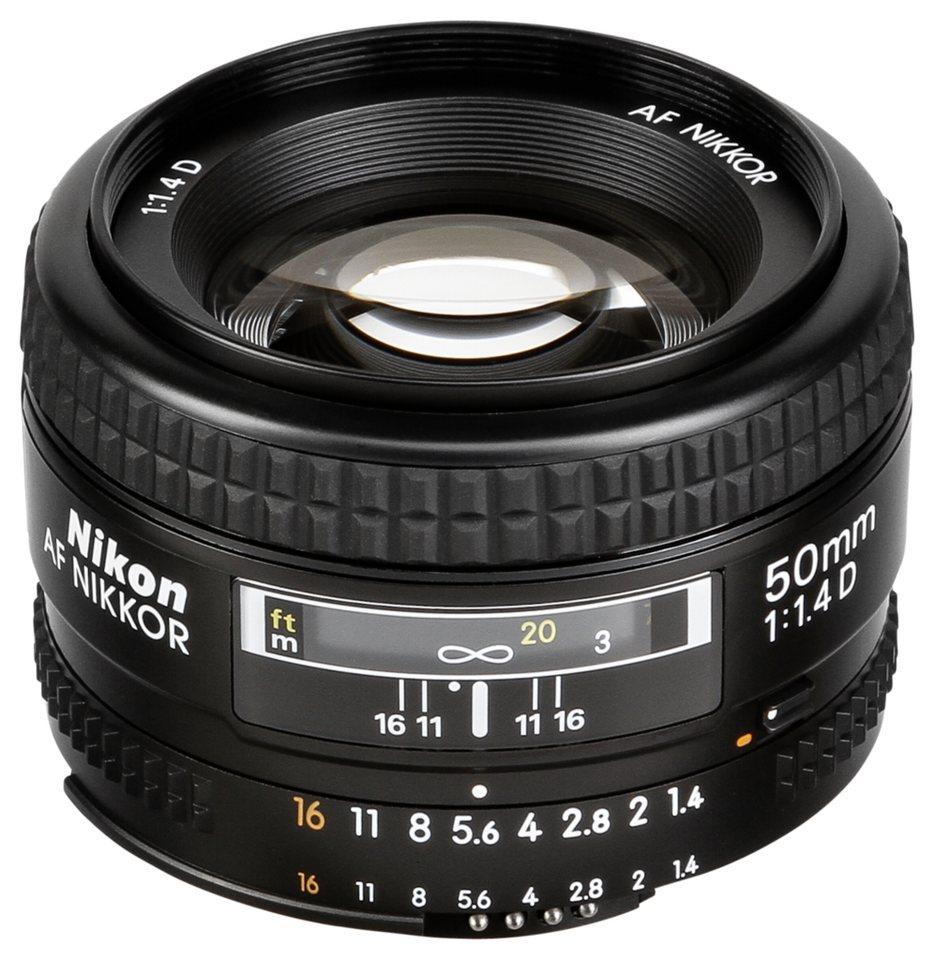 Nikon Objektive »AF-D 1,4/50« in schwarz