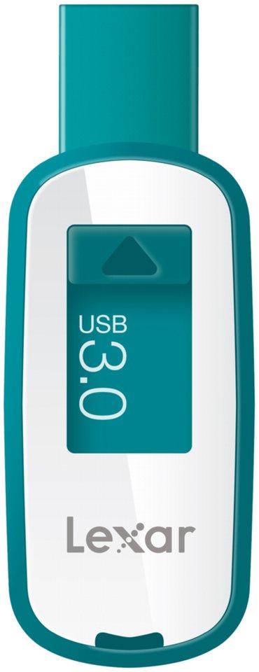 Lexar Speichermedien »JumpDrive USB 3.0 16GB S25« in weiß / blau