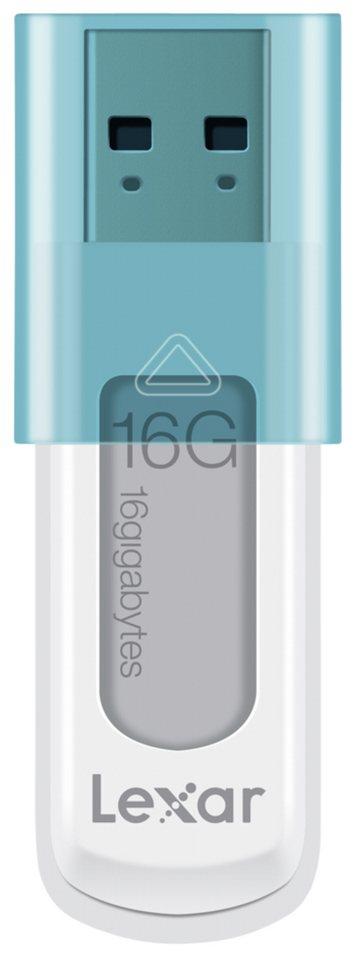 Lexar Speichermedien »JumpDrive USB 16GB S50« in weiß / blau