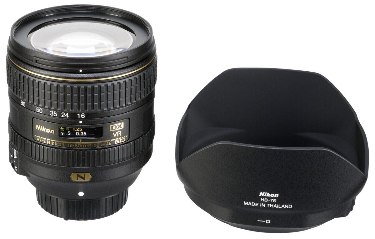Nikon Objektive »AF-S 2,8-4/16-80 DX ED VR«