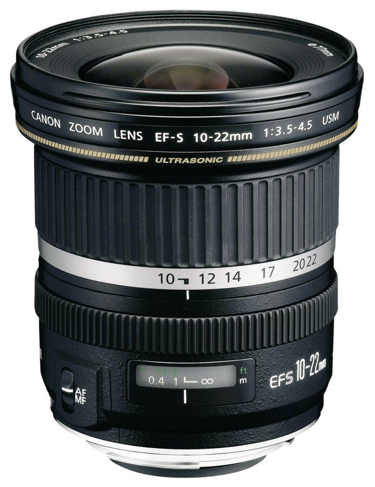 Canon Objektive »EF-S USM 3,5-4,5/10-22« in schwarz