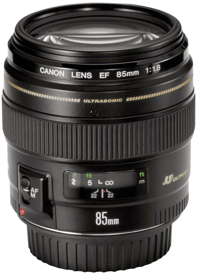Canon SLR Objektive »EF USM 1,8/85« in schwarz