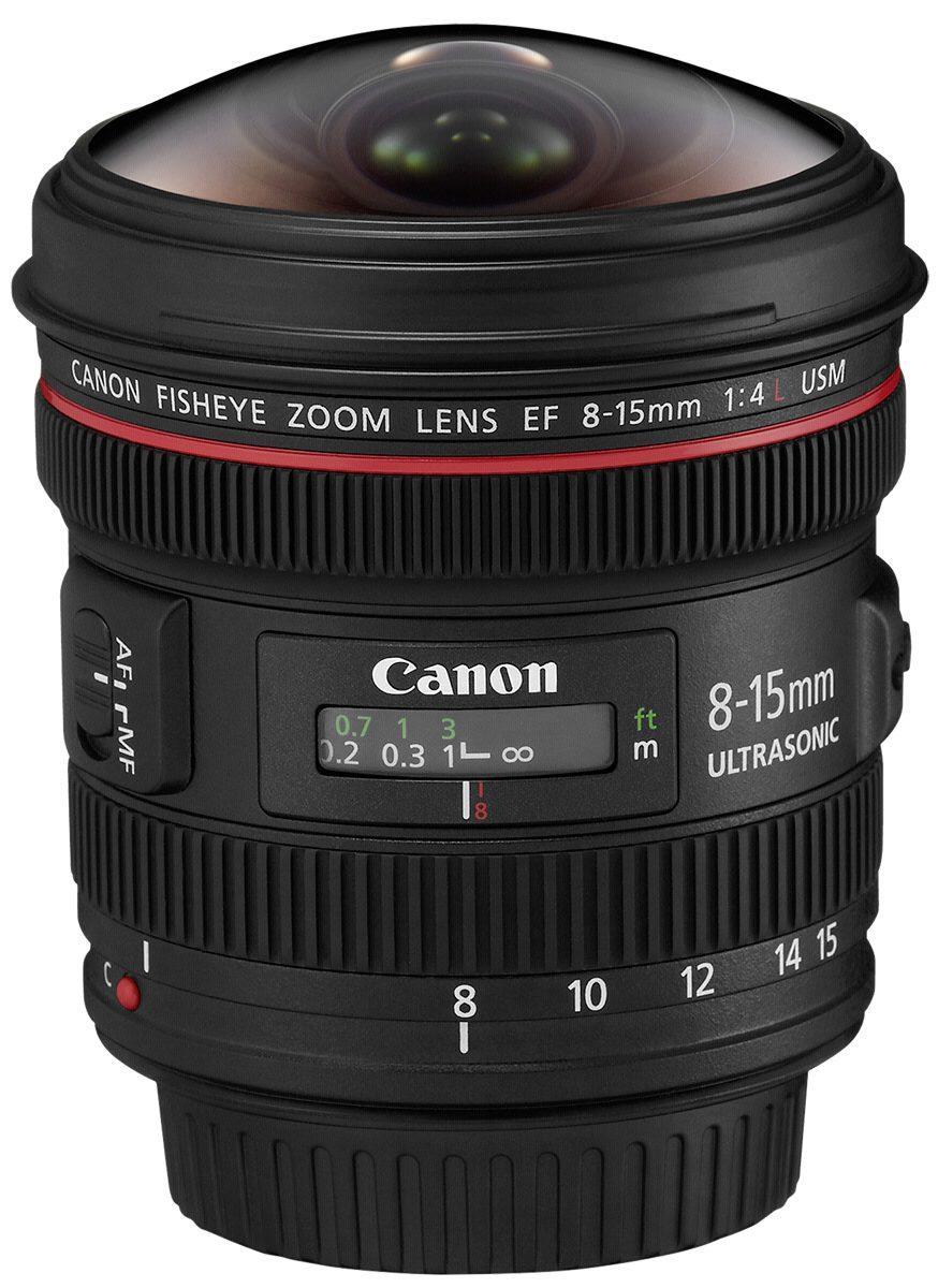 Canon SLR Objektive »EF-L 4,0/8-15 USM Fisheye«