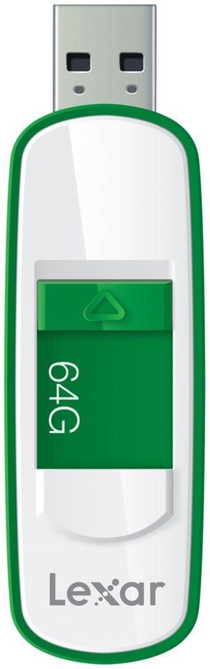 Lexar Speichermedien »JumpDrive USB 3.0 64GB S75« in weiß / grün