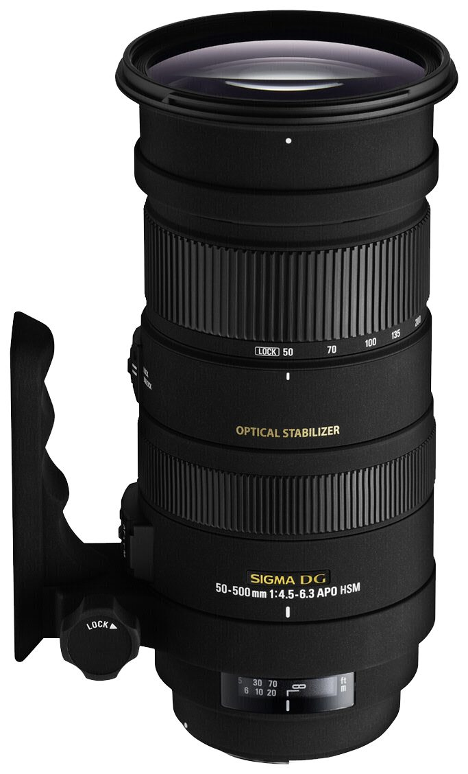Sigma SLR Objektive »4,5-6,3/50-500 OS DG C/AF APO HSM«