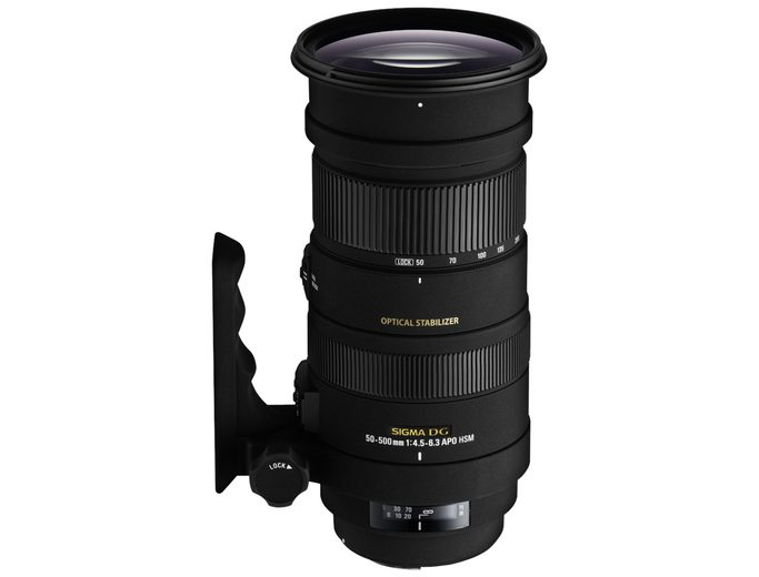 Sigma Objektive »4,5-6,3/50-500 OS DG C/AF APO HSM«
