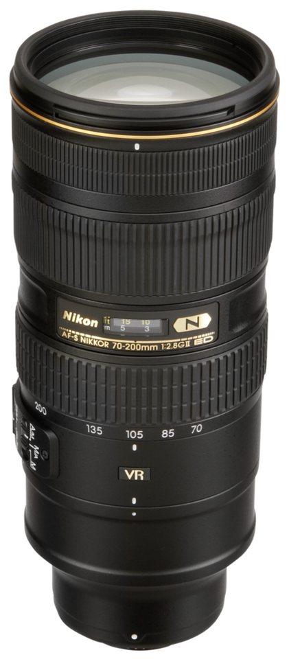 Nikon Objektive »AF-S 2,8/70-200 G ED VR II« in schwarz