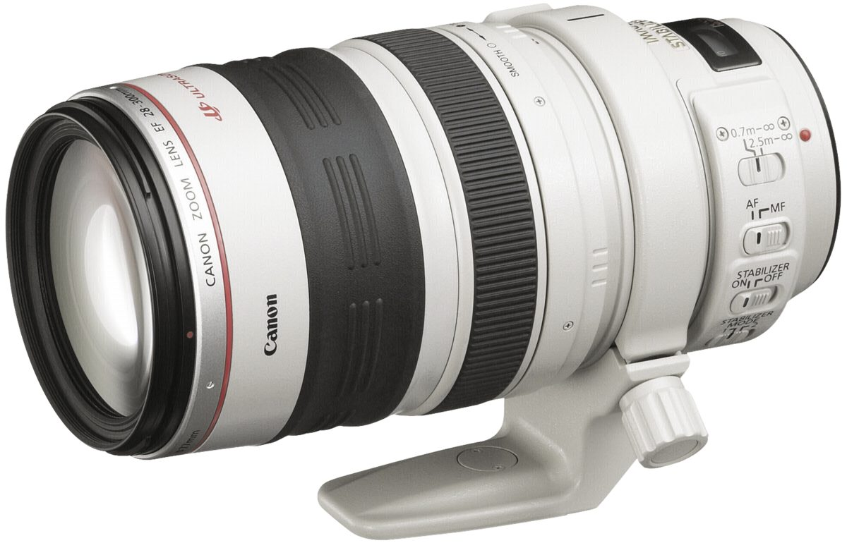 Canon Objektive »EF-L USM 3,5-5,6/28-300 IS«