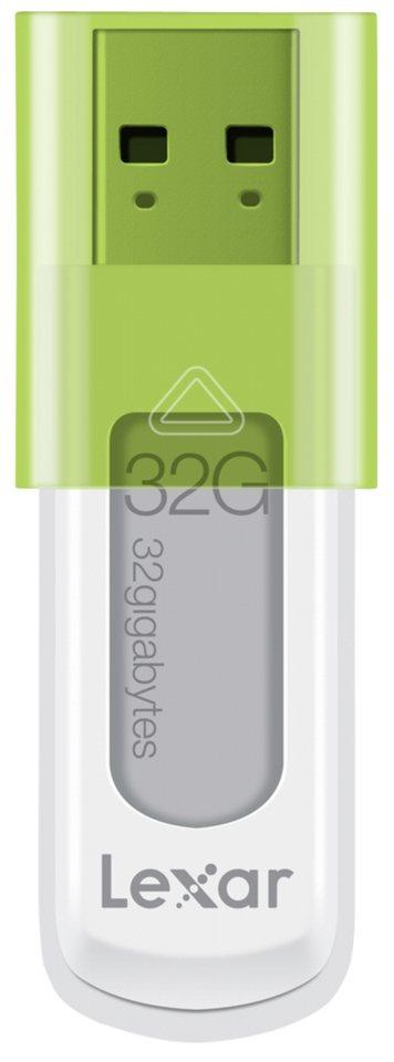 Lexar USB-Sticks »JumpDrive USB 32GB S50« in weiß / grün