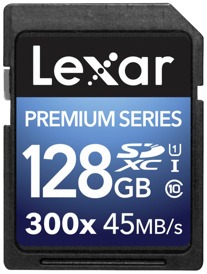 Lexar Speicherkarten »SDXC Card 128GB 300x Premium II Class 10 UHS-I«