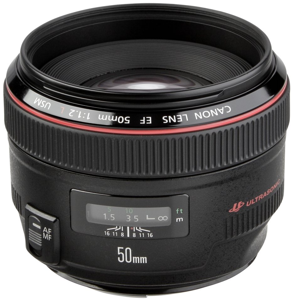 Canon Objektive »EF-L USM 1,2/50« in schwarz