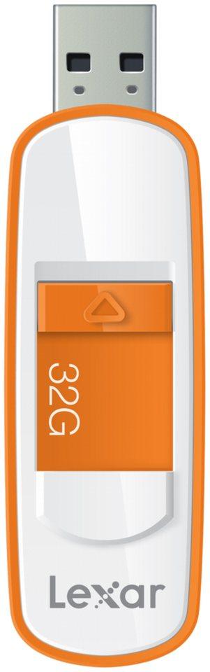 Lexar Speichermedien »JumpDrive USB 3.0 32GB S75« in weiß / orange