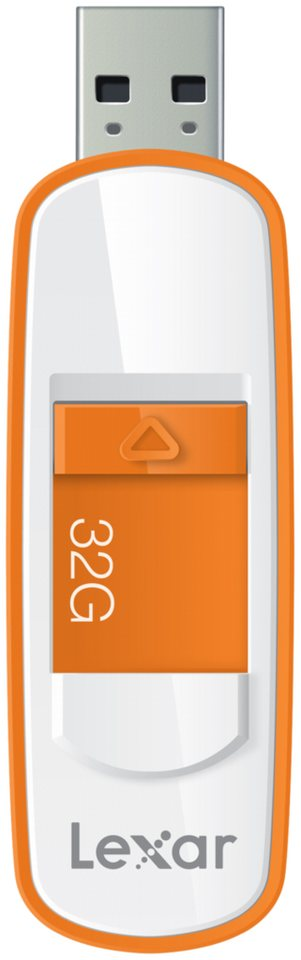 Lexar USB-Sticks »JumpDrive USB 3.0 32GB S75« in weiß / orange