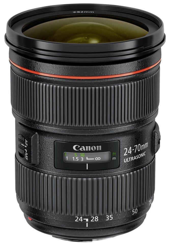 Canon SLR Objektive »EF 2,8/24-70 mm L USM II« in schwarz