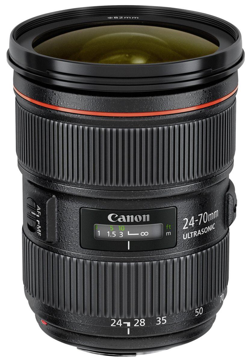 Canon SLR Objektive »EF 2,8/24-70 mm L USM II«