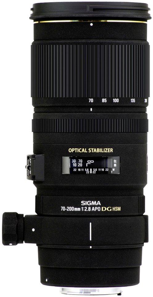 Sigma Objektive »EX 2,8/70-200 DG SO/AF OS HSM« in schwarz