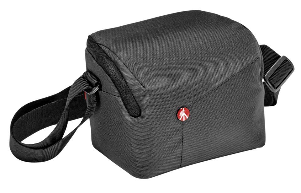 Manfrotto Fototasche »NX Schultertasche CSC« in grau / schwarz