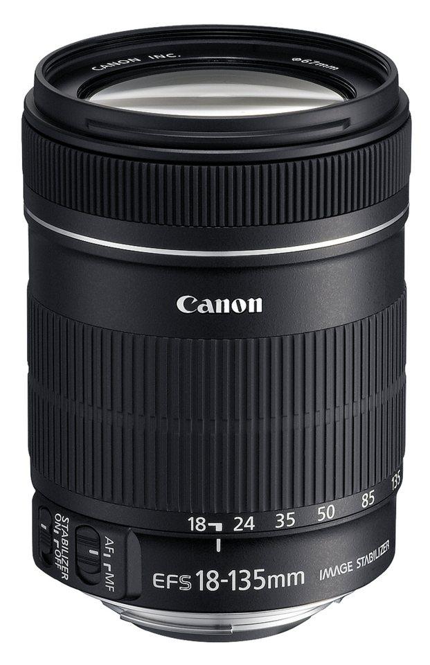 Canon Objektive »EF-S 3,5-5,6/18-135 IS« in schwarz
