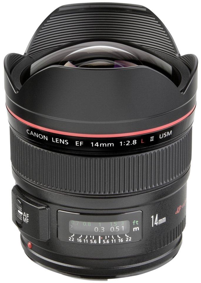 Canon Objektive »EF-L USM 2,8/14 II« in schwarz