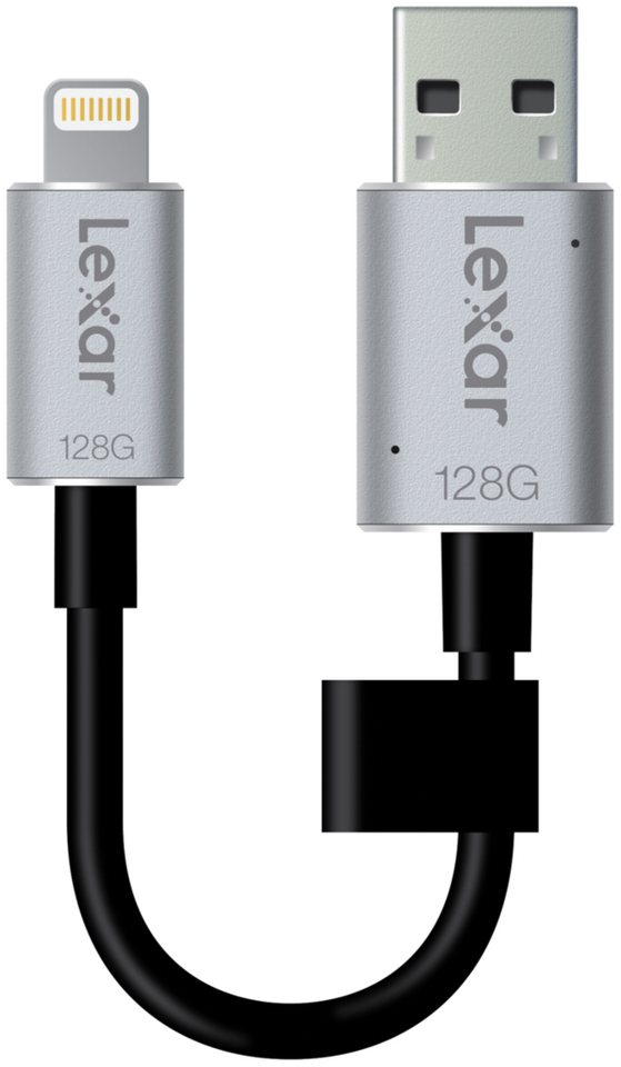 Lexar USB-Sticks »JumpDrive USB 3.0 128GB C20i Mobile« in silber