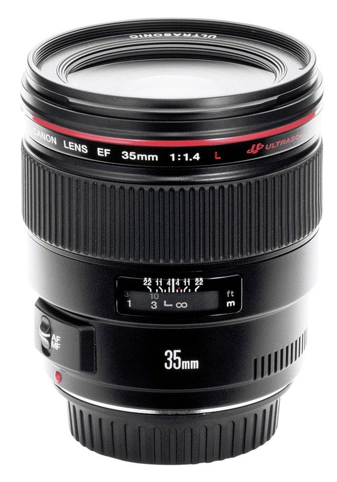 Canon SLR Objektive »EF-L USM 1,4/35« in schwarz