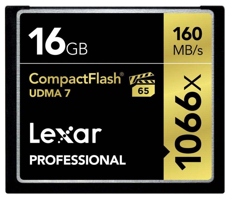 Lexar Speicherkarten »CF Card 16GB 1066x Professional UDMA7«