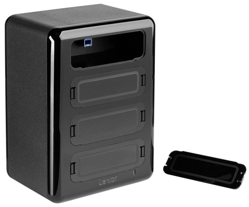 Lexar PC-Komponenten »Workflow Hub Professional / USB 3.0« in schwarz