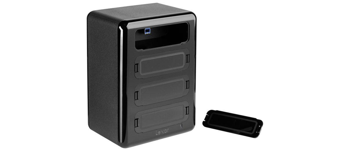 Lexar PC-Komponenten »Workflow Hub Professional / USB 3.0«