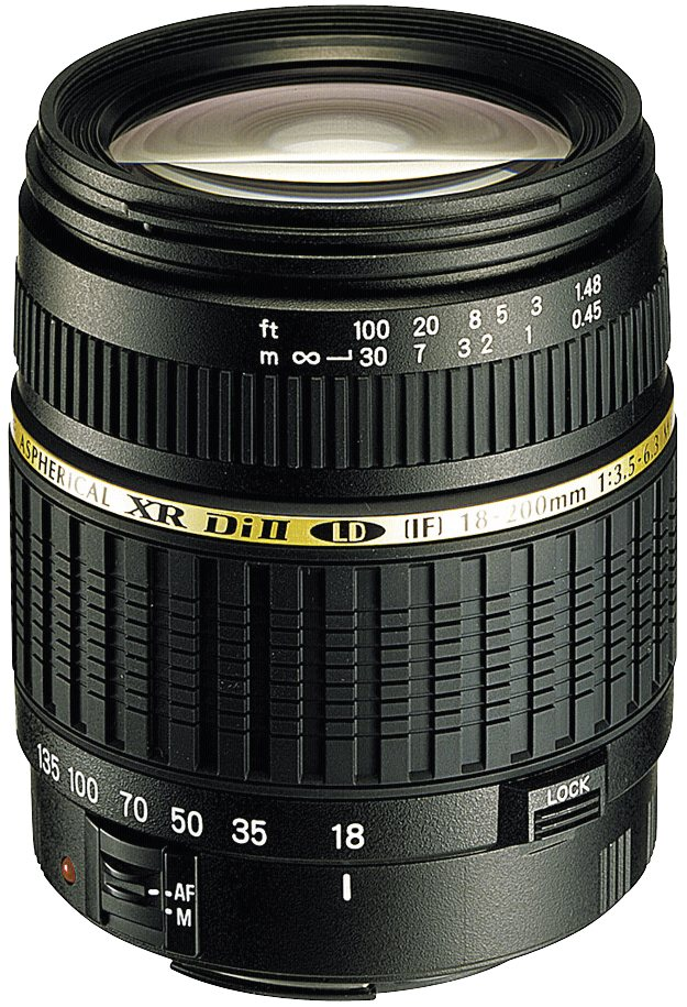 Tamron SLR Objektive »XR 3,5-6,3/18-200 DI II C/AF« in schwarz