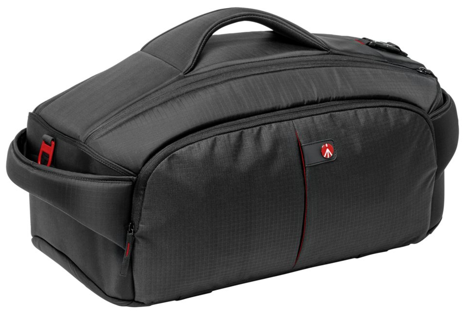 Manfrotto Fototasche »Pro Light Video Tasche CC-195 PL« in schwarz / rot