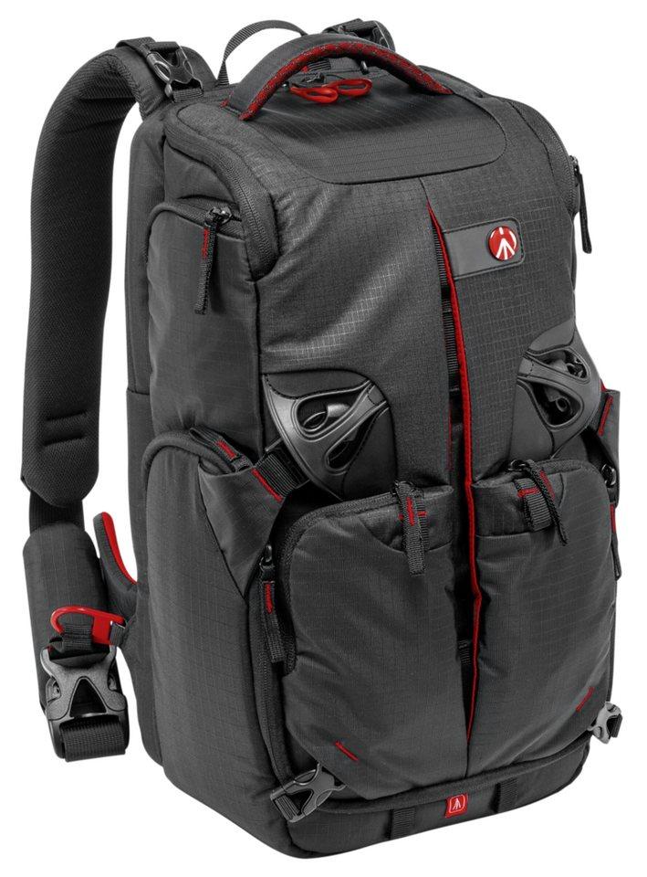 Manfrotto Fototasche »Pro Light Rucksack 3N1-25 PL« in schwarz / rot