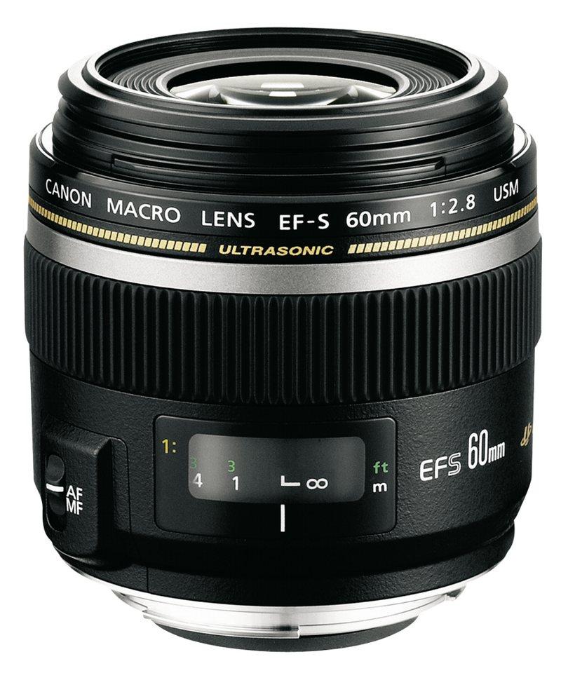 Canon SLR Objektive »EF-S USM 2,8/60 Macro« in schwarz