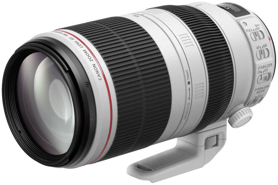 Canon SLR Objektive »EF 4,5-5,6/100-400 L IS II USM« in weiß / schwarz