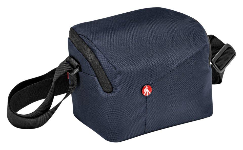 Manfrotto Fototasche »NX Schultertasche CSC« in blau / schwarz
