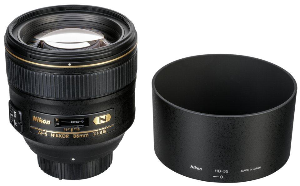 Nikon Objektive »AF-S 1,4/85 G« in schwarz