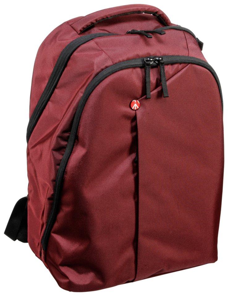 Manfrotto Fototasche »NX Rucksack« in rot / schwarz