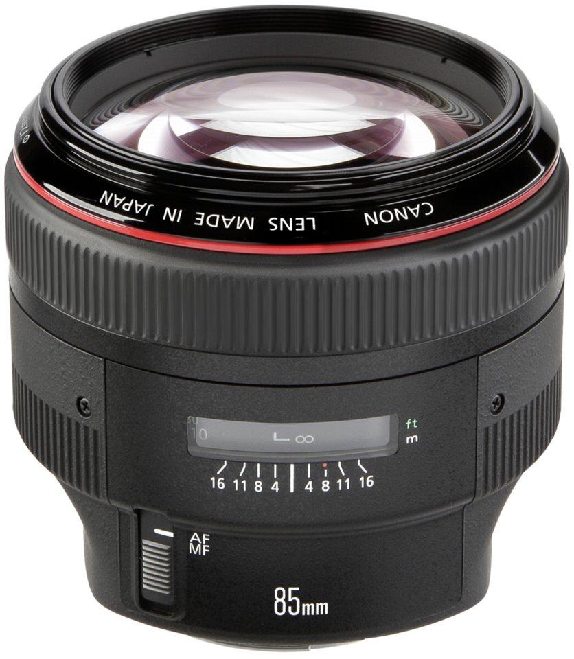 Canon Objektive »EF-L USM 1,2/85 II« in schwarz