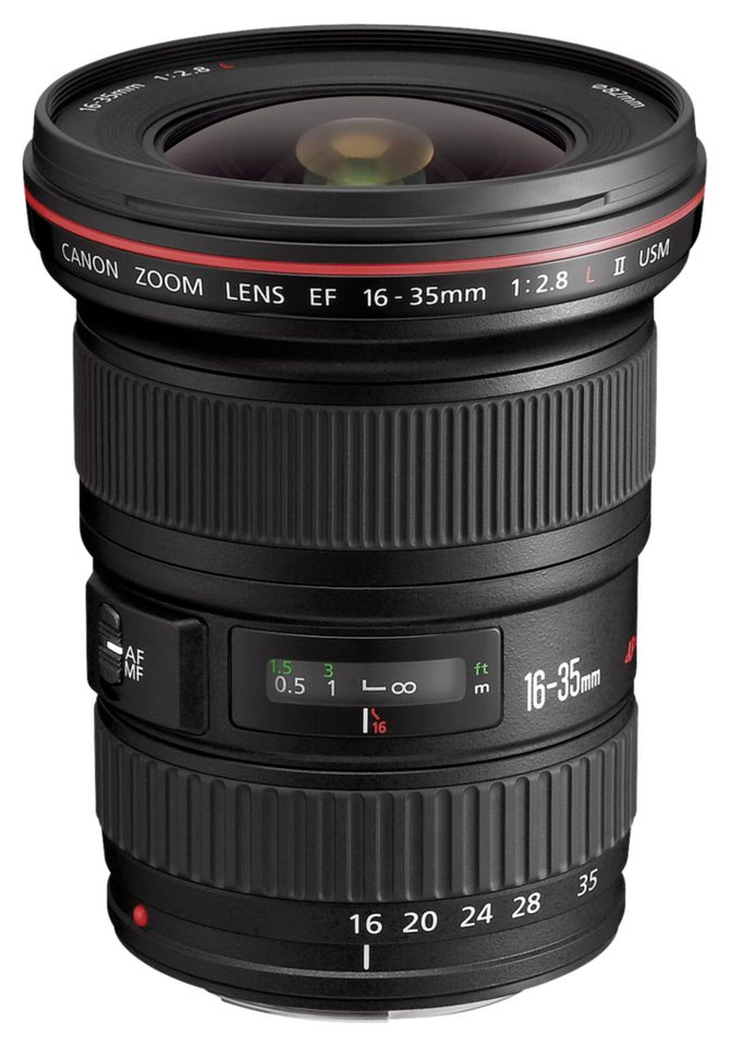 Canon Objektive »EF-L USM 2,8/16-35 II« in schwarz