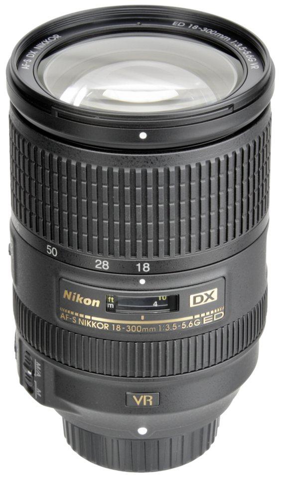 Nikon Objektive »AF-S 3,5-5,6/18-300 DX ED VR« in schwarz