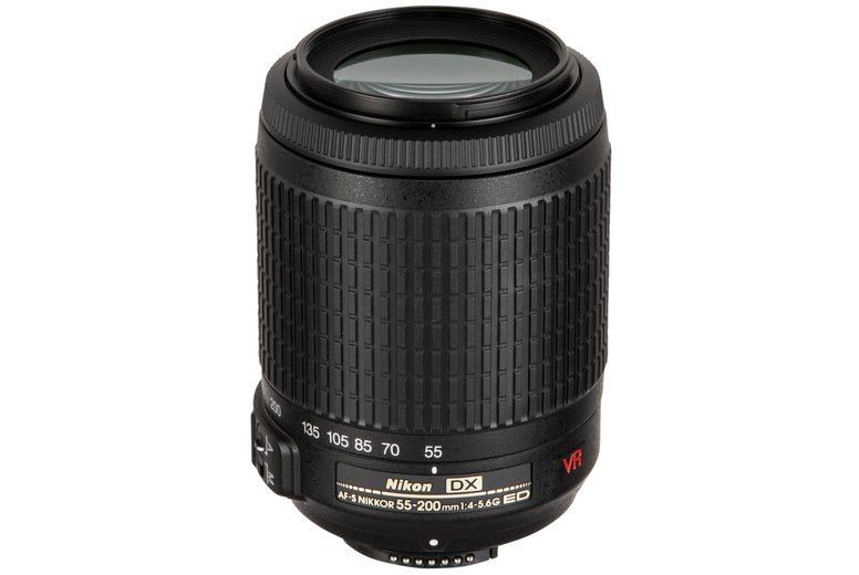 Nikon Objektive »AF-S DX 4,0-5,6/55-200 VR«